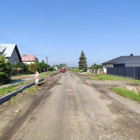 Przebudowa drogi powiatowej nr 2910W