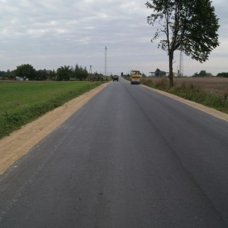 Inwestycje drogowe realizowane na drogach powiatowych w roku 2011