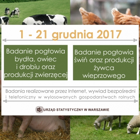 Komunikat Urzędu Statystycznego w Warszawie: promocja badań rolnych