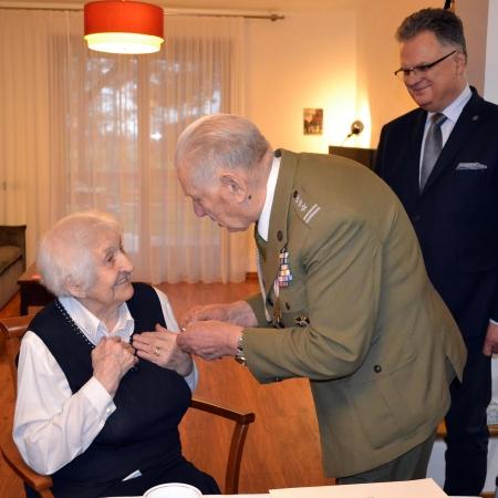"""Nadanie Odznaki Jubileuszowej """"Polska Niepodległa 1918- 2018"""""""