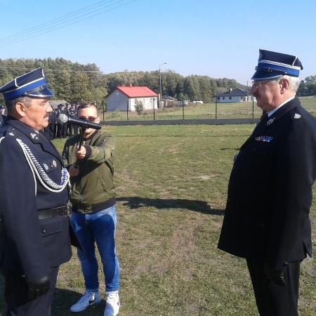 Nadanie sztandaru dla OSP w Szczytnie