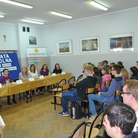 Ogólnopolski Tydzień Kariery w Zespole Szkół im. Leokadii Bergerowej w Płocku