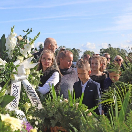 Ostatnie pożegnanie Starosty Płockiego śp. Mariusza Bieńka_10