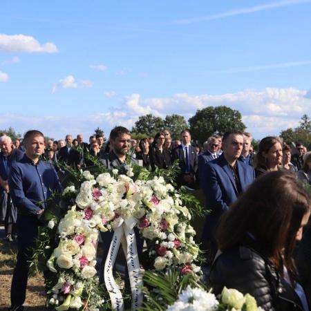 Ostatnie pożegnanie Starosty Płockiego śp. Mariusza Bieńka_6