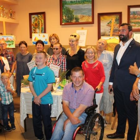 Otwarcie nowych sal w Środowiskowym Domu Samopomocy  w Wyszogrodzie
