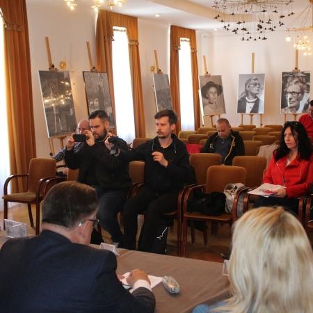 Konferencja prasowa w sprawie Płockiego Forum Biznesu