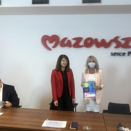 Podpisanie umów z partnerami KSOW