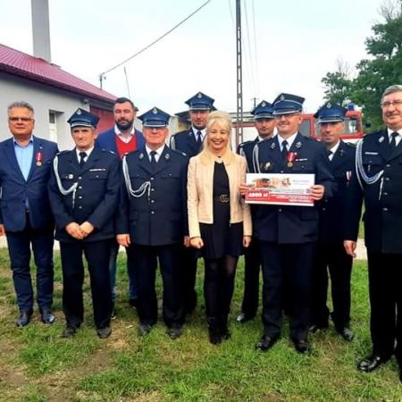 Pomoc dla kolejnych jednostek Ochotniczych Straży Pożarnych