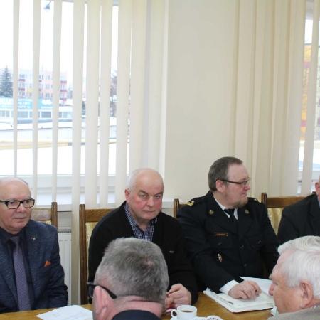 Posiedzenie Prezydium Zarządu Oddziału Powiatowego ZOSP RP w Płocku