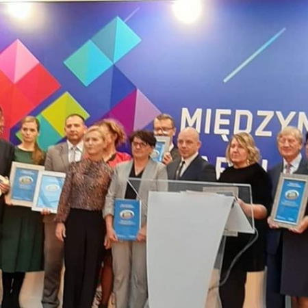 """""""Solidny partner w środowisku lokalnym"""" 2019 dla Starostwa Powiatowego w Płocku"""