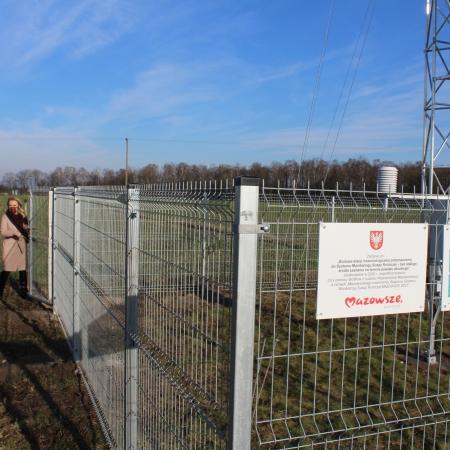 Stacja meteorologiczna przeznaczona do Systemu Monitoringu Suszy Rolniczej już działa