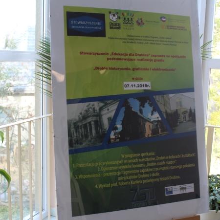 """Stowarzyszenie """"Edukacja dla Drobina"""" podsumowuje projekt"""