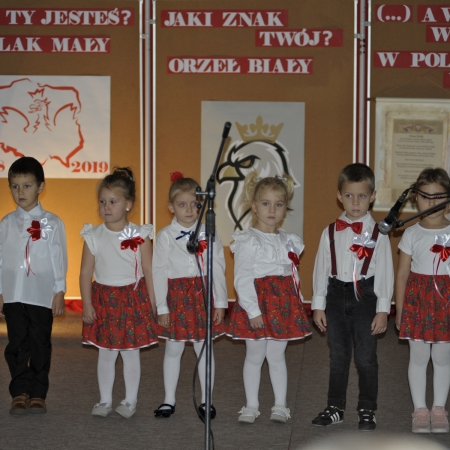 Szkolne obchody 101 rocznicy Odzyskania przez Polskę Niepodległości