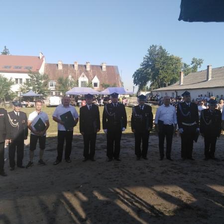 Uroczystości strażackie w powiecie płockim