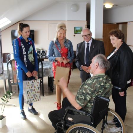 Wernisaż prac w Domu Pomocy Społecznej w Koszelewie