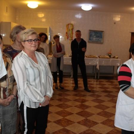 Wielkanocne spotkanie z pracownikami DPS-u w Koszelewie