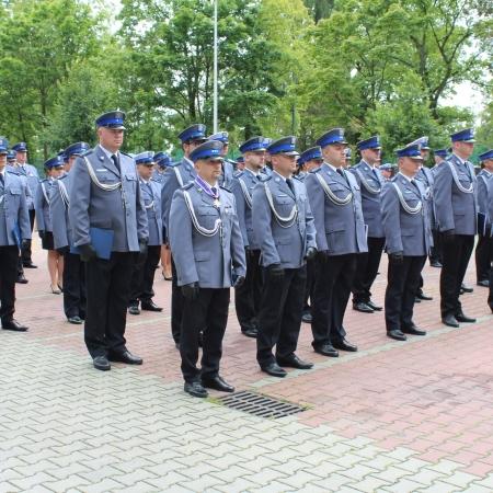 Święto Policji. Wyróżnienia od Starosty Płockiego i życzenia dla funkcjonariuszy