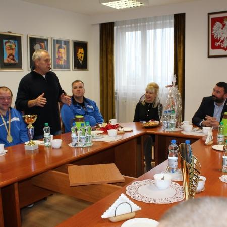 Wyjątkowe święto i wyjątkowi goście w Starostwie Powiatowym w Płocku