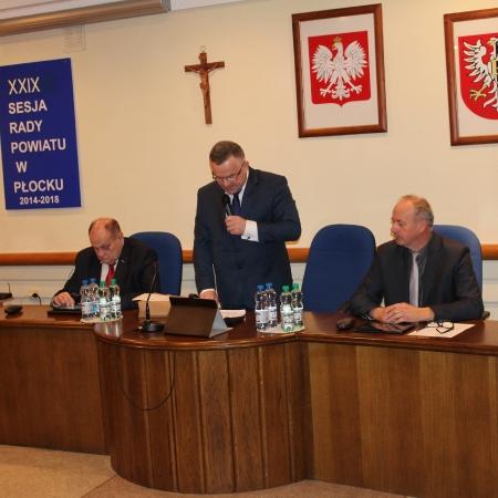 XXIX Sesja Rady Powiatu w Płocku